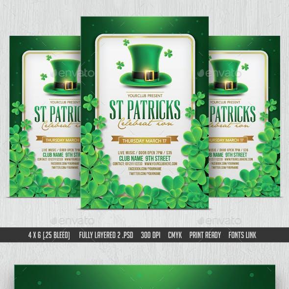 St Patricks Day Flyer & Facebook Cover