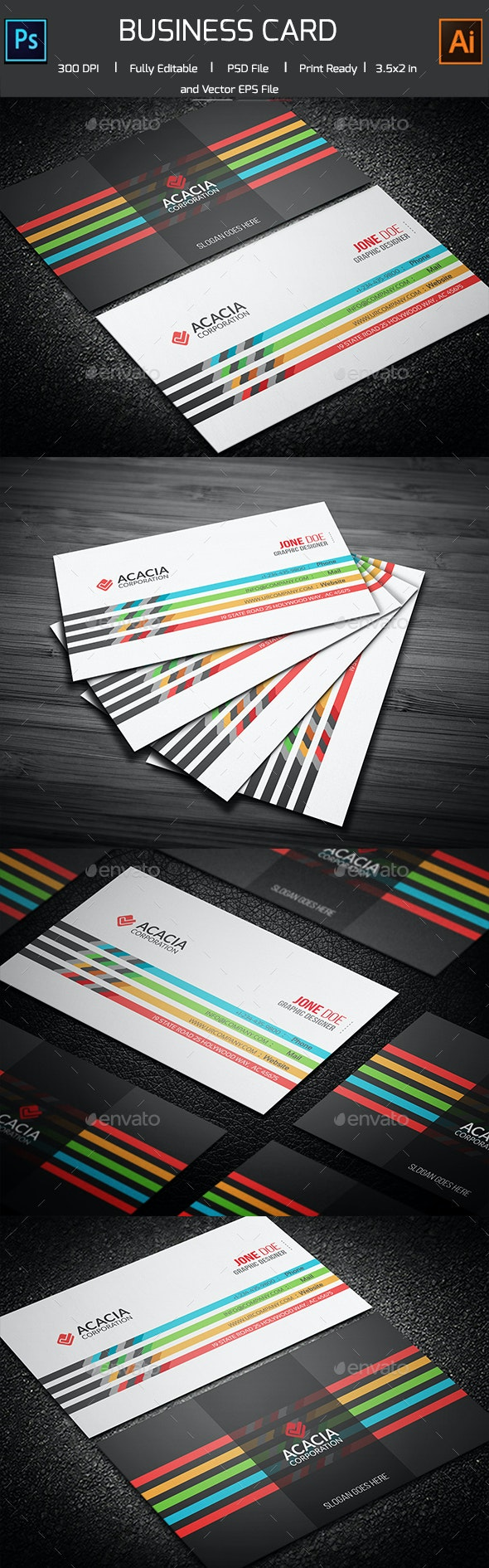 Bristale Business Card - Corporate Business Cards
