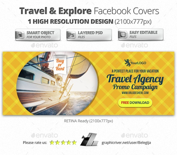 Travel & Explore Facebook Covers - Facebook Timeline Covers Social Media
