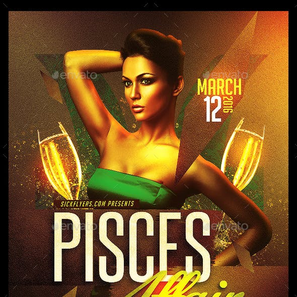 Pisces Affair Flyer