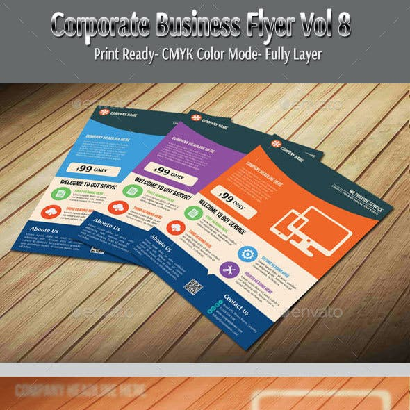 Corporate Business Flyer Vol-8