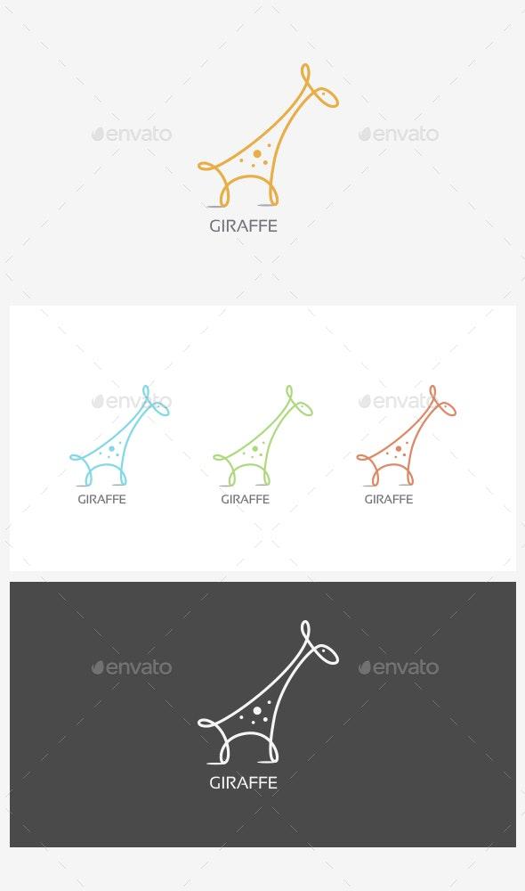 Giraffe Logo - Animals Logo Templates