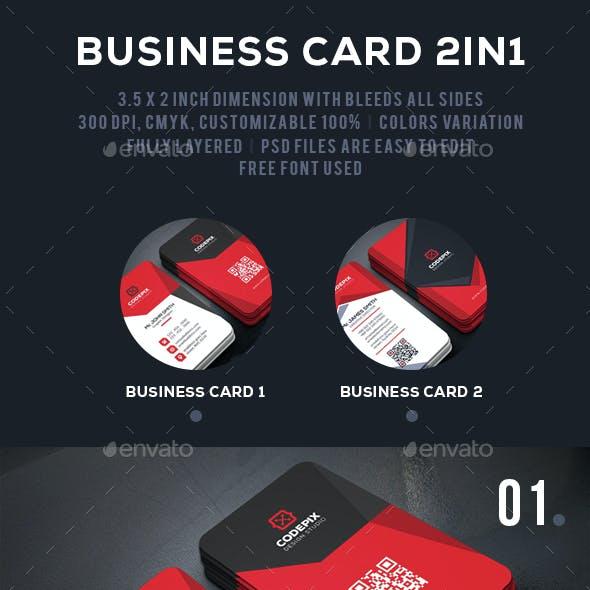 Modern Business Card Bundle