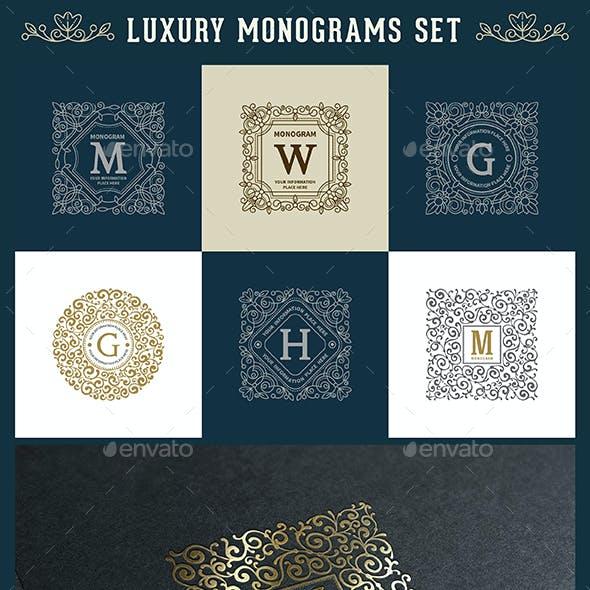 Luxury Logo and Monogram Set