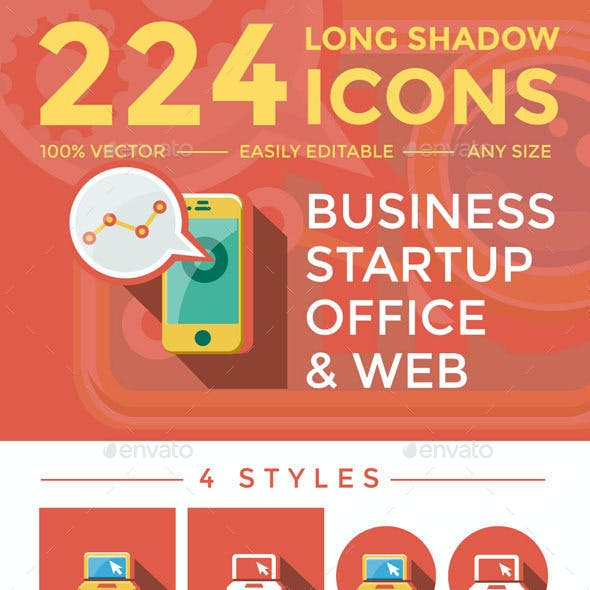 Business & Startup Icons