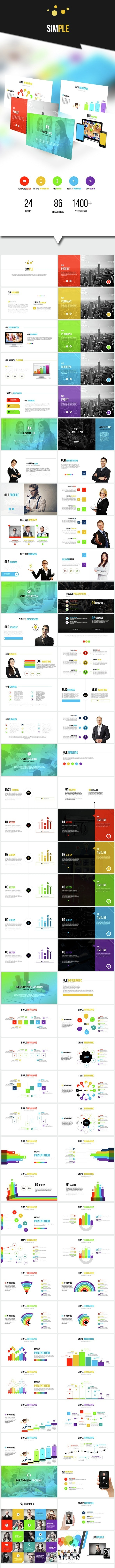 SIMPLE - Powerpoint Business Presentation - PowerPoint Templates Presentation Templates