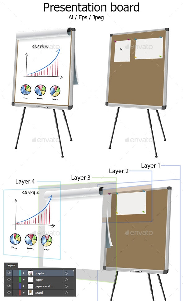 Presentation Board - Man-made Objects Objects