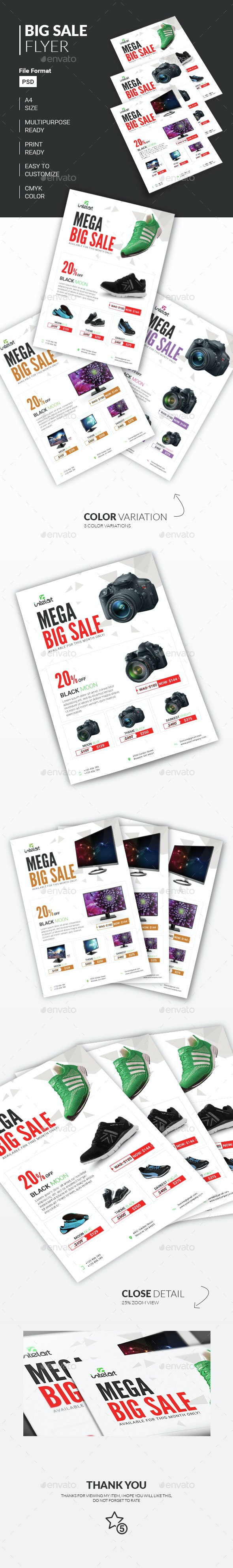 Big Sale Flyer - Commerce Flyers