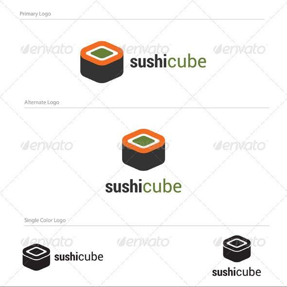 Sushy Cube Logo Design - ABS-015