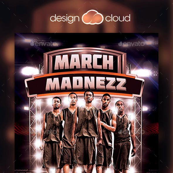 March Madnezz v1 Flyer Template