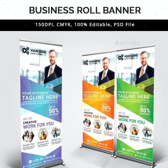 Business Roll Up Banner V30