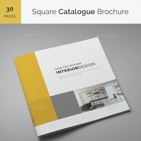 Square Catalogue Brochure