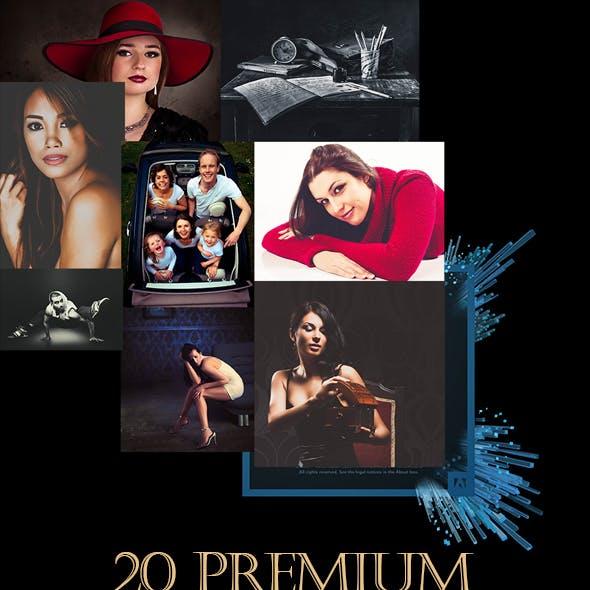 20 Premium Lightroom Preset