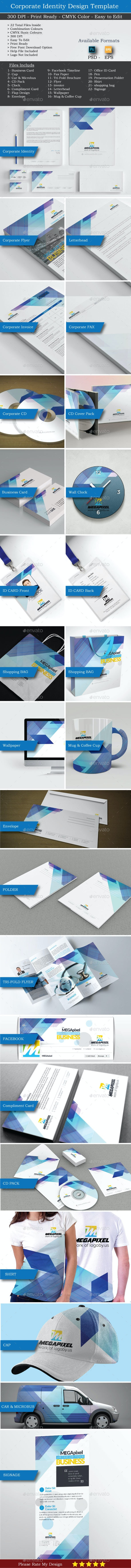 Corporate Identity Set-1 - Stationery Print Templates