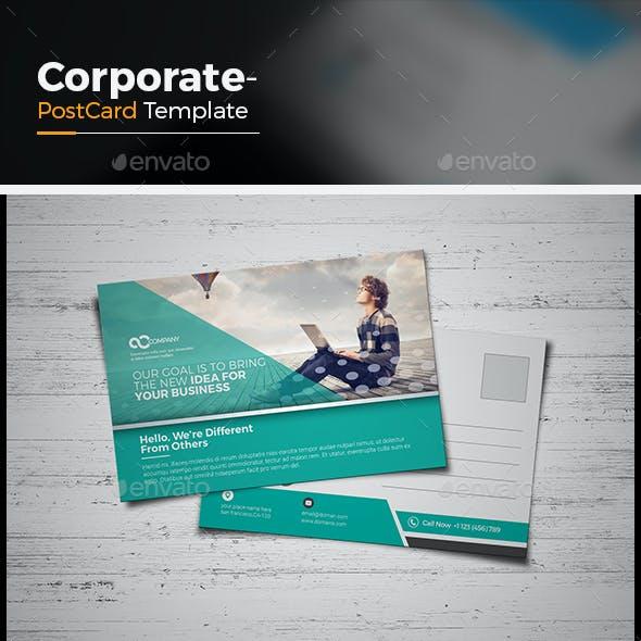 Agency Postcard Template