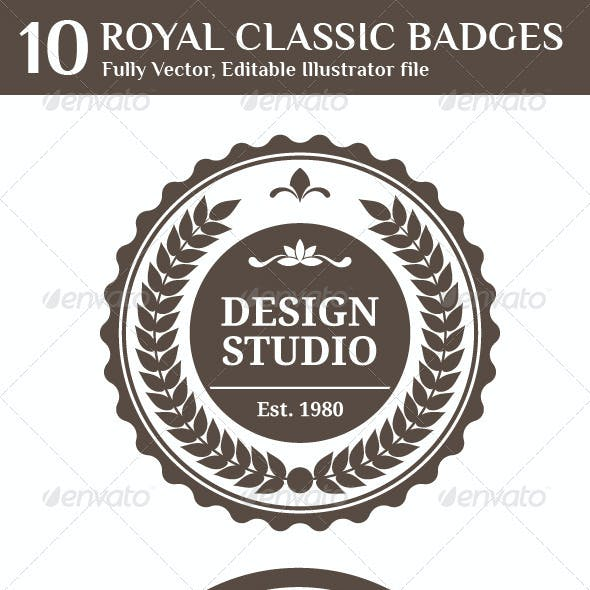 Royal Classic Badges