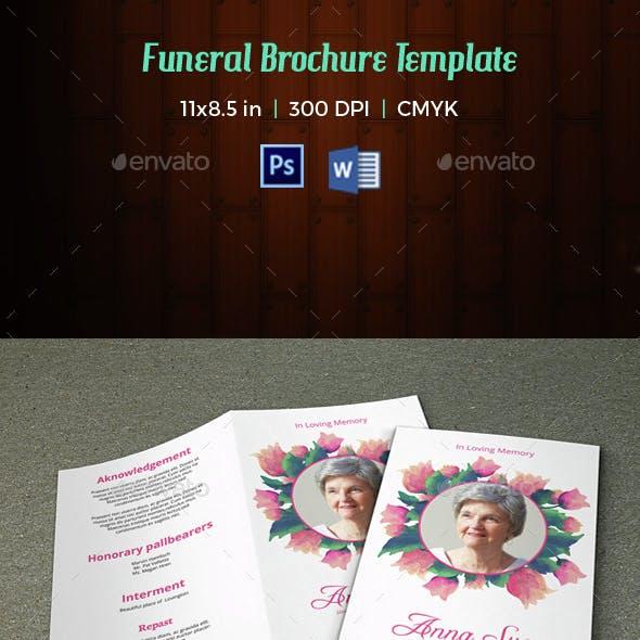 Funeral Program Template-V27