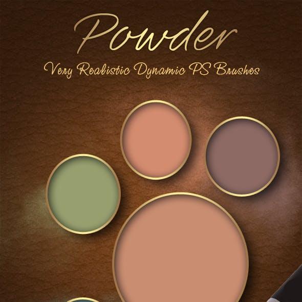 Realistic Powder Brushes