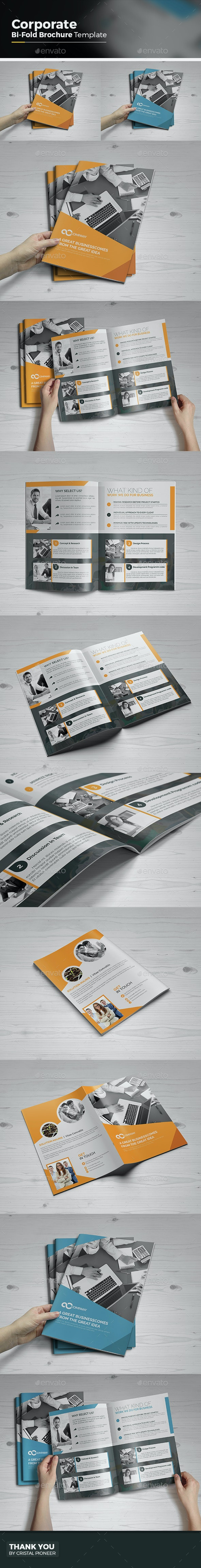 Bi-Fold Multipurpose Brochure - Corporate Brochures