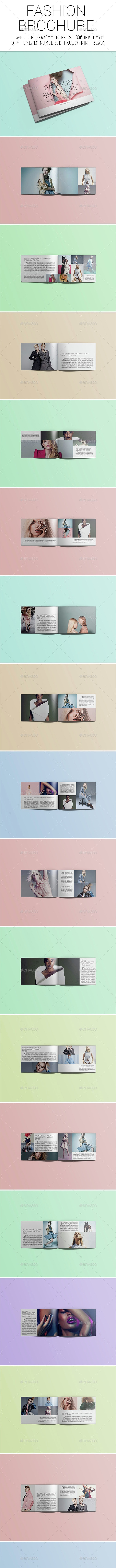 Fashion Brochure - Magazines Print Templates