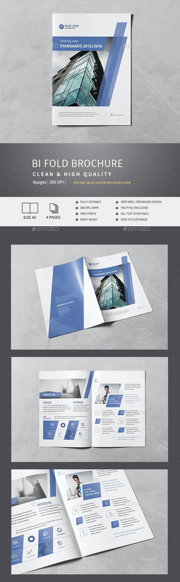 Corporate Bi-Fold Brochure v.5 - Corporate Brochures