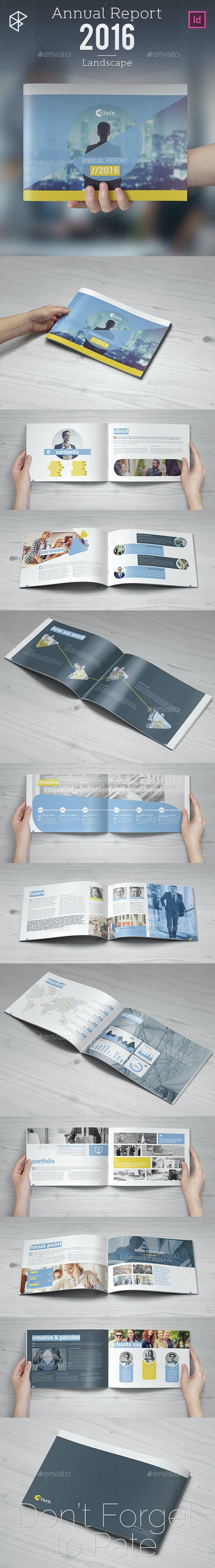Annual Report 2016 - Landscape - Corporate Brochures
