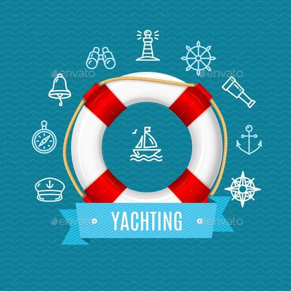 Nautical Sea Yachting Concept - Travel Conceptual