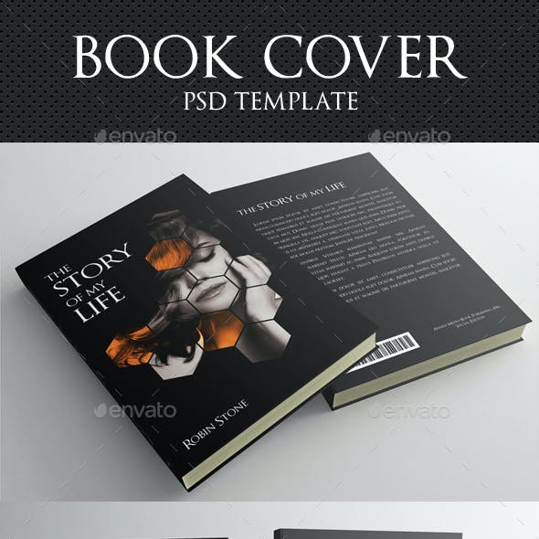 Book Cover Template 02
