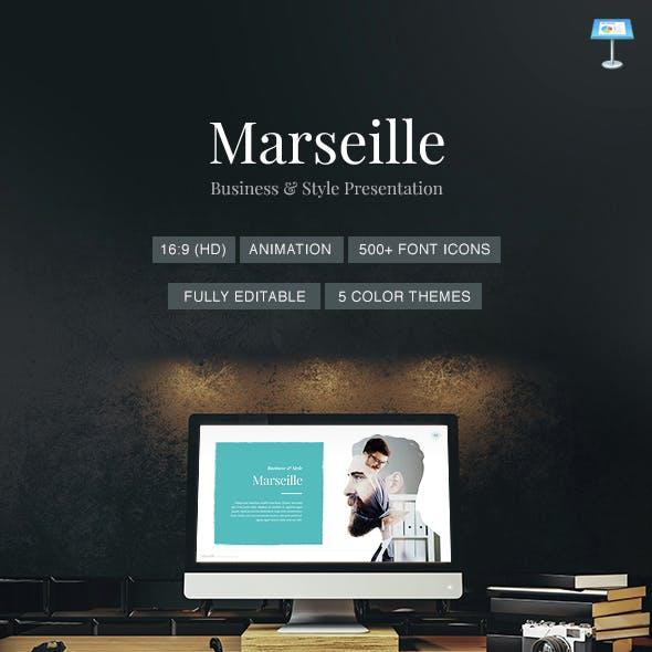 Marseille - Elegant Keynote Template