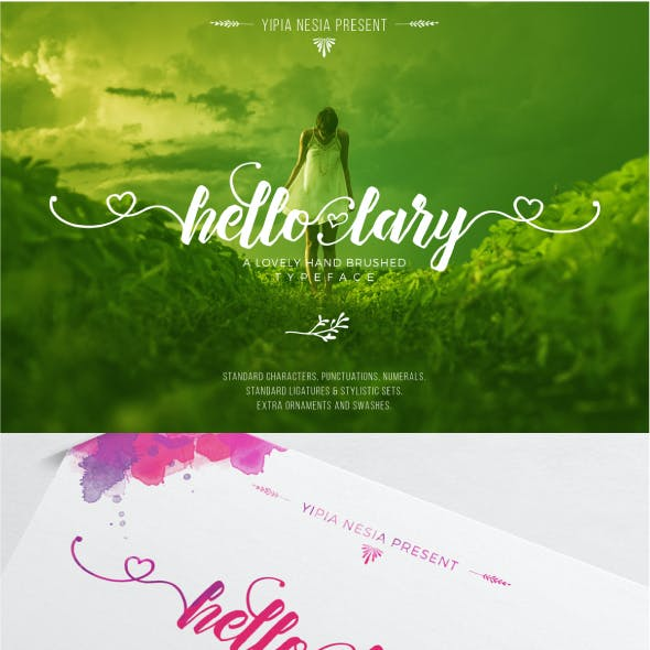 Hello Lary Font