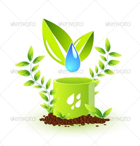 Environmental concept - Nature Conceptual