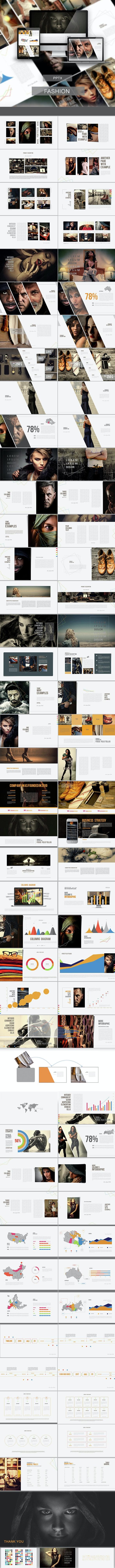 Fashion PowerPoint Presentation - PowerPoint Templates Presentation Templates