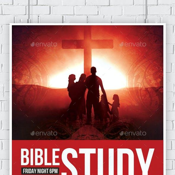 Bible Study Church Flyers Bundle