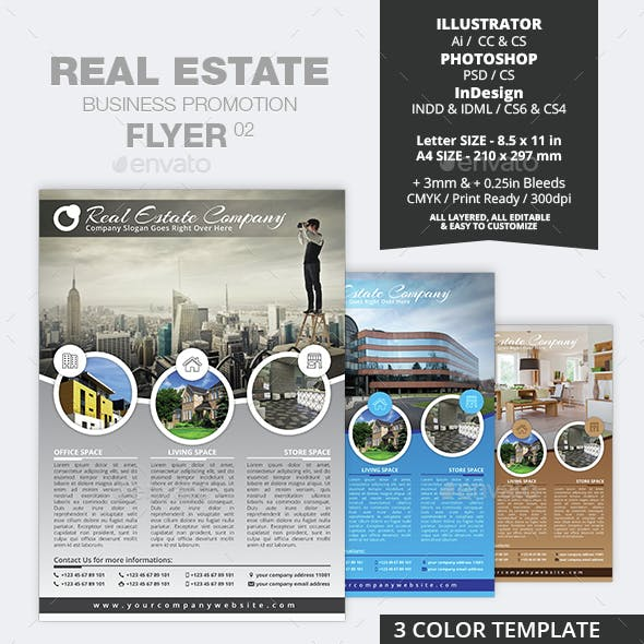 Real Estate Business Promotion Flyer 02