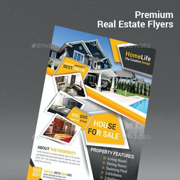 Premium Real Estate Flyers