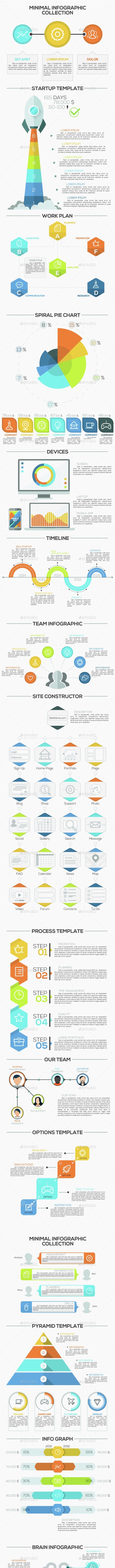 Minimal Infographic Pack - Infographics