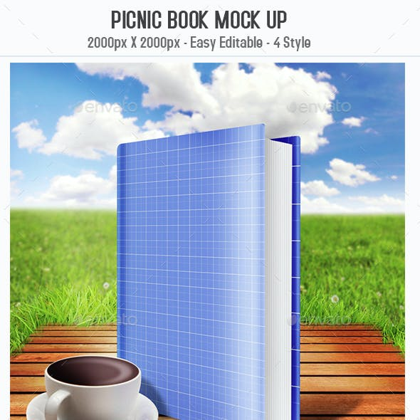 Picnic Book Mock Up