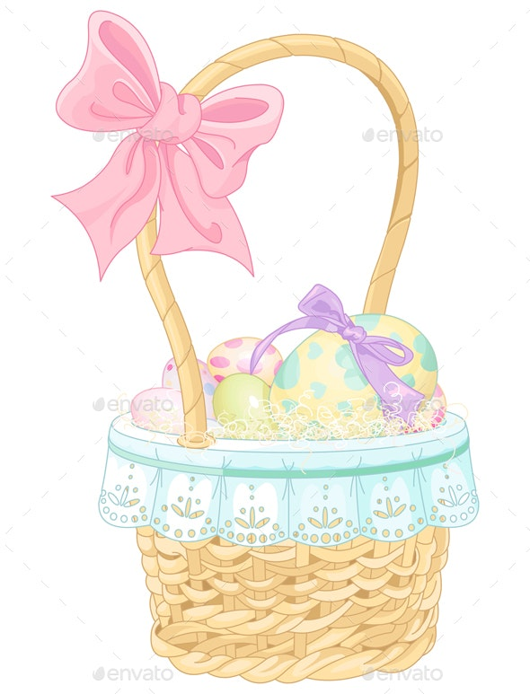 Easter Basket  - Man-made Objects Objects