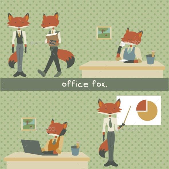 Office Fox Set