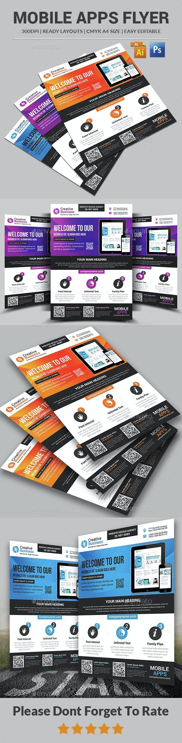 App Flyer Templates - Corporate Flyers