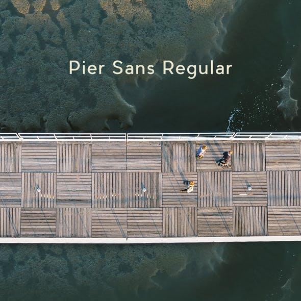 Pier Sans Regular