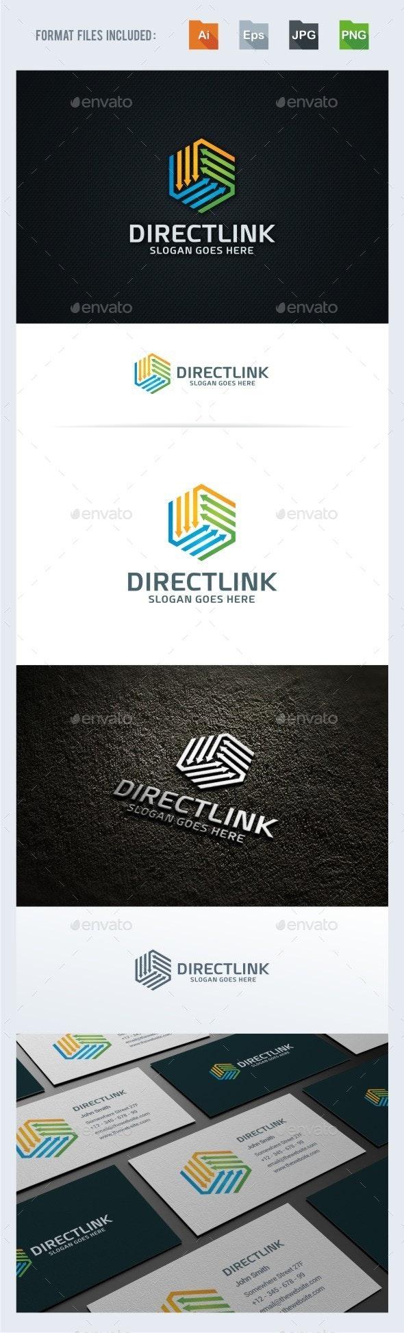 Directions / Arrow Logo Template - Symbols Logo Templates