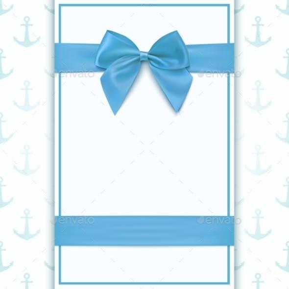 Blank Greeting Card Template