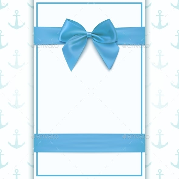 Blank Greeting Card Template - Backgrounds Decorative
