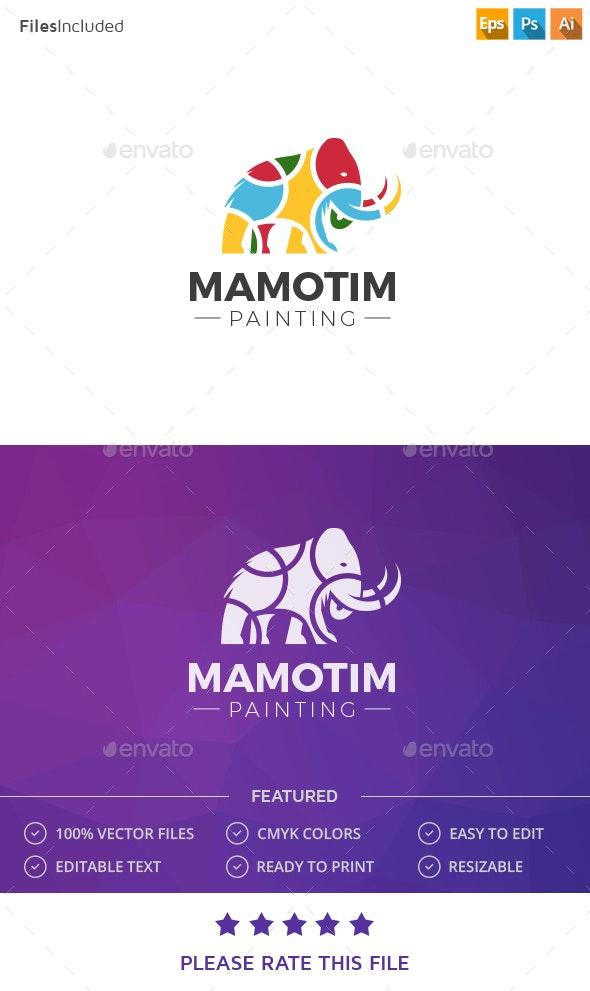 Mammoth Logo - Animals Logo Templates