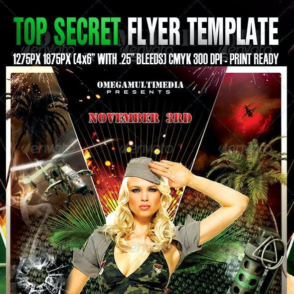 Top Secret Template
