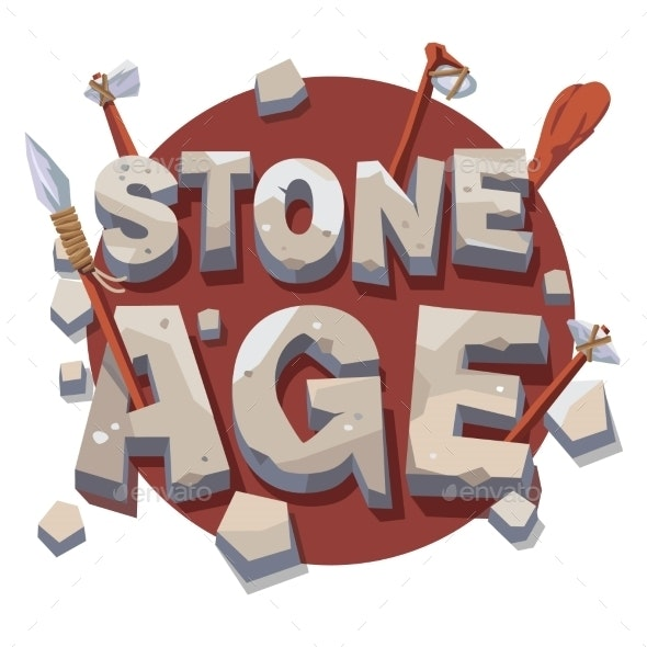 Stone Age Writing with Prehistoric Wooden Tools - Miscellaneous Conceptual