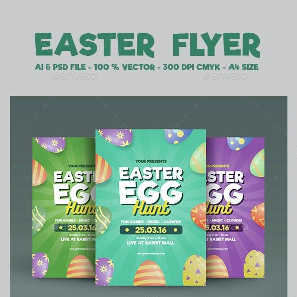 Easter Flyer Vol 02