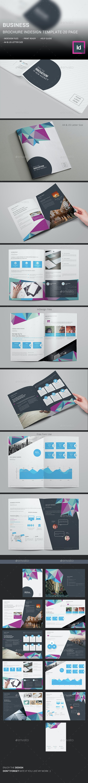 Business Brochure InDesign Template - Corporate Brochures