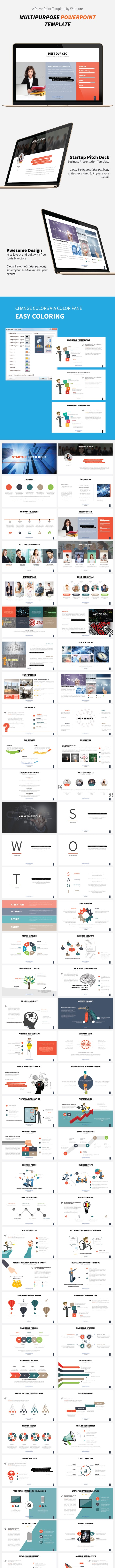 Startup Pitch Deck - Business PowerPoint Templates